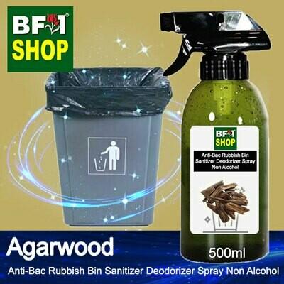 (ABRBSD) Agarwood Anti-Bac Rubbish Bin Sanitizer Deodorizer Spray - Non Alcohol - 500ml