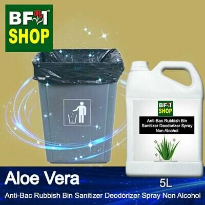 (ABRBSD) Aloe Vera Anti-Bac Rubbish Bin Sanitizer Deodorizer Spray - Non Alcohol - 5L