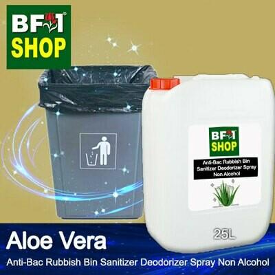(ABRBSD) Aloe Vera Anti-Bac Rubbish Bin Sanitizer Deodorizer Spray - Non Alcohol - 25L