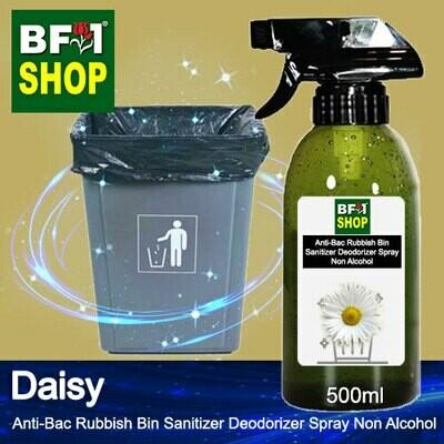 (ABRBSD) Daisy Anti-Bac Rubbish Bin Sanitizer Deodorizer Spray - Non Alcohol - 500ml