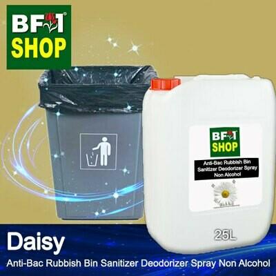 (ABRBSD) Daisy Anti-Bac Rubbish Bin Sanitizer Deodorizer Spray - Non Alcohol - 25L