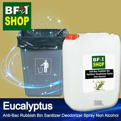 (ABRBSD) Eucalyptus Anti-Bac Rubbish Bin Sanitizer Deodorizer Spray - Non Alcohol - 25L