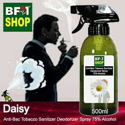 (ABTSD1) Daisy Anti-Bac Tobacco Sanitizer Deodorizer Spray - 75% Alcohol - 500ml