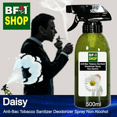 (ABTSD1) Daisy Anti-Bac Tobacco Sanitizer Deodorizer Spray - Non Alcohol - 500ml