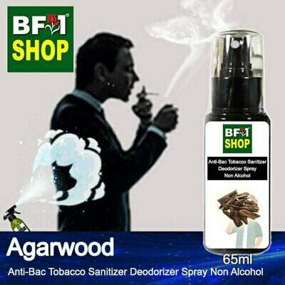 (ABTSD1) Agarwood Anti-Bac Tobacco Sanitizer Deodorizer Spray - Non Alcohol - 65ml