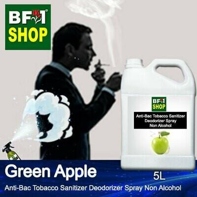 (ABTSD1) Apple - Green Apple Anti-Bac Tobacco Sanitizer Deodorizer Spray - Non Alcohol - 5L