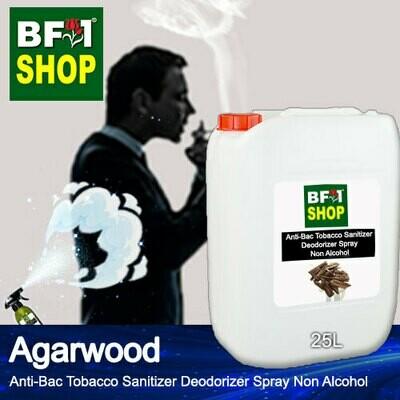 (ABTSD1) Agarwood Anti-Bac Tobacco Sanitizer Deodorizer Spray - Non Alcohol - 25L