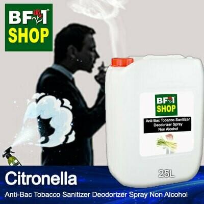 (ABTSD1) Citronella Anti-Bac Tobacco Sanitizer Deodorizer Spray - Non Alcohol - 25L