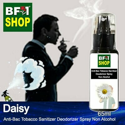 (ABTSD1) Daisy Anti-Bac Tobacco Sanitizer Deodorizer Spray - Non Alcohol - 65ml