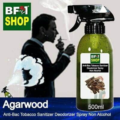 (ABTSD1) Agarwood Anti-Bac Tobacco Sanitizer Deodorizer Spray - Non Alcohol - 500ml