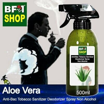 (ABTSD1) Aloe Vera Anti-Bac Tobacco Sanitizer Deodorizer Spray - Non Alcohol - 500ml