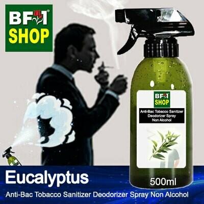 (ABTSD1) Eucalyptus Anti-Bac Tobacco Sanitizer Deodorizer Spray - Non Alcohol - 500ml
