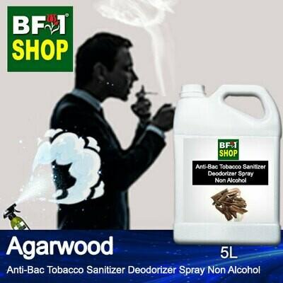 (ABTSD1) Agarwood Anti-Bac Tobacco Sanitizer Deodorizer Spray - Non Alcohol - 5L