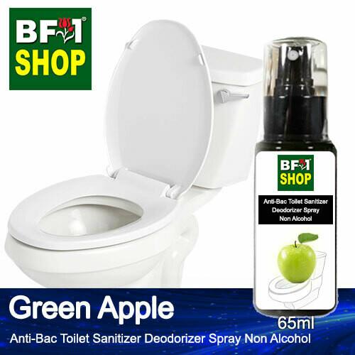 (ABTSD) Apple - Green Apple Anti-Bac Toilet Sanitizer Deodorizer Spray - Non Alcohol - 65ml
