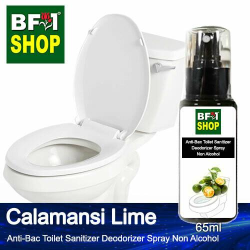(ABTSD) lime - Calamansi Lime Anti-Bac Toilet Sanitizer Deodorizer Spray - Non Alcohol - 65ml