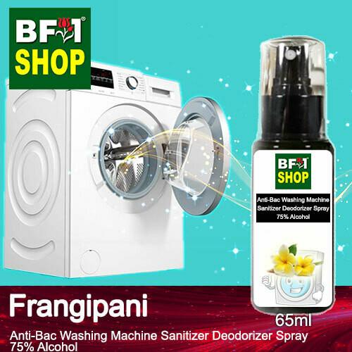 (ABWMSD) Frangipani Anti-Bac Washing Machine Sanitizer Deodorizer Spray - 75% Alcohol - 65ml