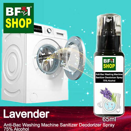 (ABWMSD) Lavender Anti-Bac Washing Machine Sanitizer Deodorizer Spray - 75% Alcohol - 65ml