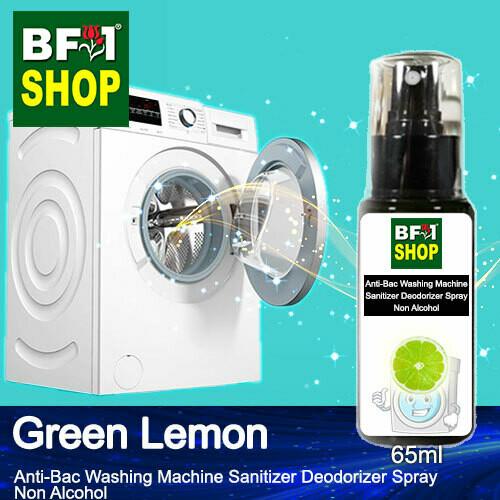 (ABWMSD) Lemon - Green Lemon Anti-Bac Washing Machine Sanitizer Deodorizer Spray - Non Alcohol - 65ml