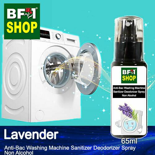 (ABWMSD) Lavender Anti-Bac Washing Machine Sanitizer Deodorizer Spray - Non Alcohol - 65ml