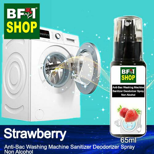 (ABWMSD) Strawberry Anti-Bac Washing Machine Sanitizer Deodorizer Spray - Non Alcohol - 65ml