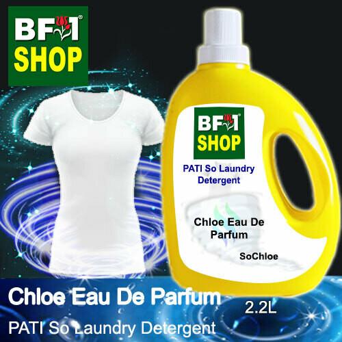 (PSLDD) PATI SoChloe - Chloe Eau De Parfum - Laundry Detergent + Deodorizer - 2.2L