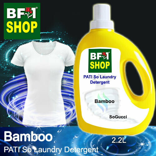 (PSLDD) PATI SoGucci - Bamboo - Laundry Detergent + Deodorizer - 2.2L