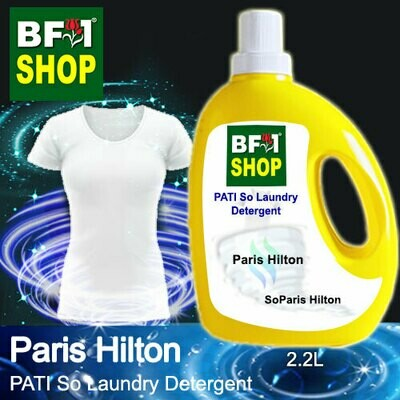 (PSLDD) PATI SoParis Hilton - Paris Hilton - Laundry Detergent + Deodorizer - 2.2L