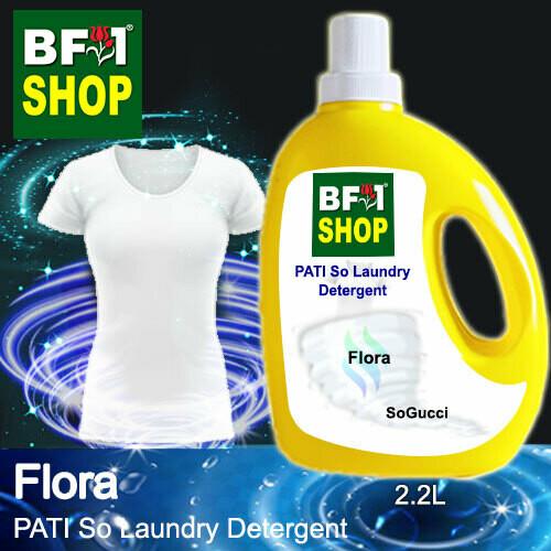 (PSLDD) PATI SoGucci - Flora - Laundry Detergent + Deodorizer - 2.2L