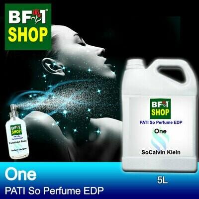 (PSEDP) PATI SoCalvin Klein - One - Perfume EDP - 5L