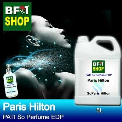 (PSEDP) PATI SoParis Hilton - Paris Hilton - Perfume EDP - 5L