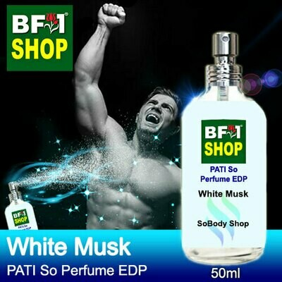 (PSEDP) PATI SoBody Shop - White Musk - Perfume EDP - 50ml