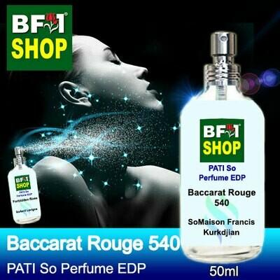 (PSEDP) PATI SoMaison Francis Kurkdjian - Baccarat Rouge 540 - Perfume EDP - 50ml