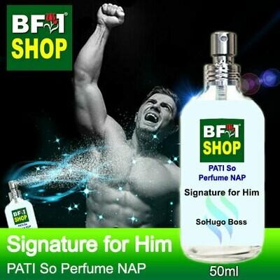 (PSNAP) PATI SoHugo Boss - Signature for Him - Perfume NAP - 50ml