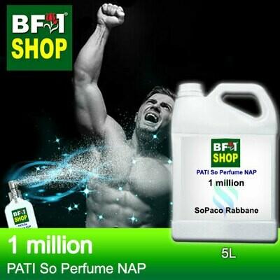 (PSNAP) PATI SoPaco Rabbane - 1 million - Perfume NAP - 5L