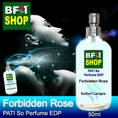 (PSEDP) PATI SoAvril Lavigne - Forbidden Rose - Perfume EDP - 50ml
