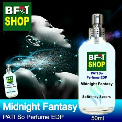 (PSEDP) PATI SoBritney Spears - Midnight Fantasy - Perfume EDP - 50ml
