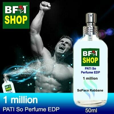 (PSEDP) PATI SoPaco Rabbane - 1 million - Perfume EDP - 50ml
