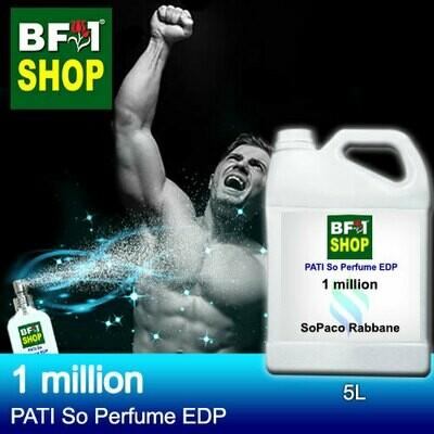 (PSEDP) PATI SoPaco Rabbane - 1 million - Perfume EDP - 5L