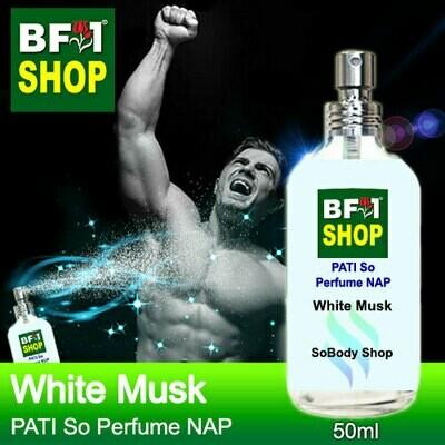 (PSNAP) PATI SoBody Shop - White Musk - Perfume NAP - 50ml