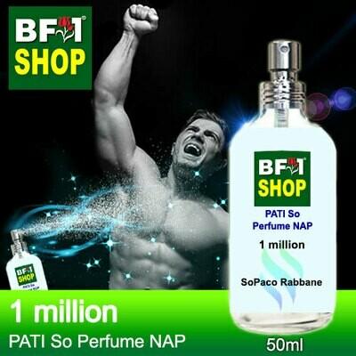 (PSNAP) PATI SoPaco Rabbane - 1 million - Perfume NAP - 50ml