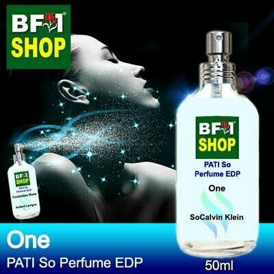 (PSEDP) PATI SoCalvin Klein - One - Perfume EDP - 50ml