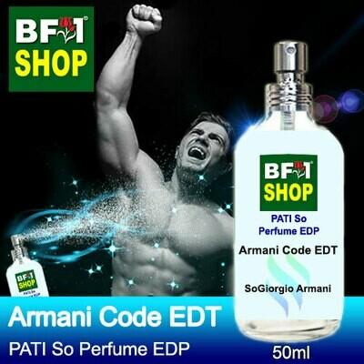 (PSEDP) PATI SoGiorgio Armani - Armani Code EDT - Perfume EDP - 50ml