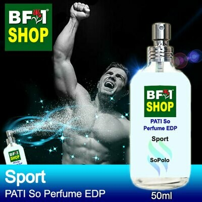 (PSEDP) PATI SoPolo - Sport - Perfume EDP - 50ml