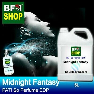(PSEDP) PATI SoBritney Spears - Midnight Fantasy - Perfume EDP - 5L
