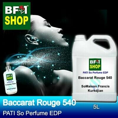 (PSEDP) PATI SoMaison Francis Kurkdjian - Baccarat Rouge 540 - Perfume EDP - 5L