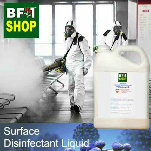 Anti-Bac Surface Disinfectant Liquid ( 75% IPA Alcohol ) - 5L