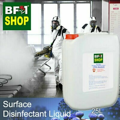 Anti-Bac Surface Disinfectant Liquid ( 75% IPA Alcohol ) - 25L