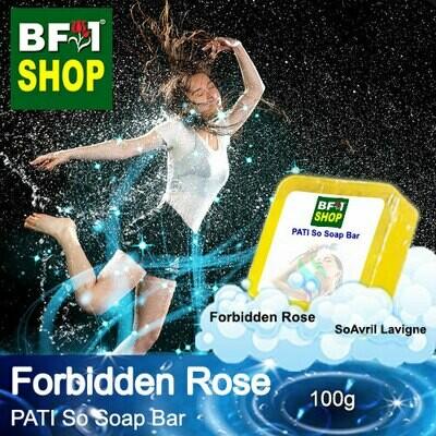 (PSSB) PATI SoAvril Lavigne - Forbidden Rose - Soap Bar - 100g