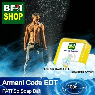 (PSSB) PATI SoGiorgio Armani - Armani Code EDT - Soap Bar - 100g