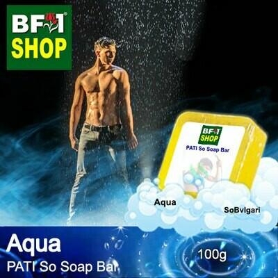 (PSSB) PATI SoBvlgari - Aqua - Soap Bar - 100g